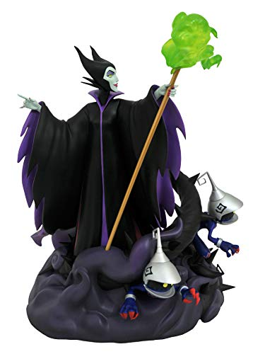 DIAMOND SELECT TOYS Kingdom Hearts III Maleficent with Heartless PVC Gallery Figur