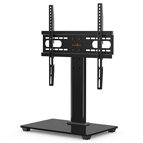 Perlegear Supporto TV per 37-55 pollici, OLED TV LCD PLASMA piatta e curva, che regge fino a 40 Kg. Con normativa VESA, 400 X 400 mm