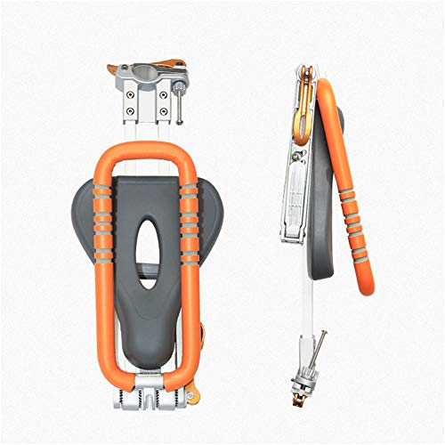 Asiento de bicicleta para niños, portabicicletas plegable y ultraligero montado en la...