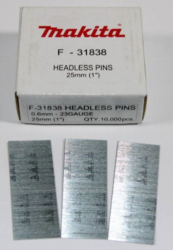 Makita F-31838 25 mm accu-inktnietmachine/stiftnagelpistool voor BPT350/351 10.000 stuks