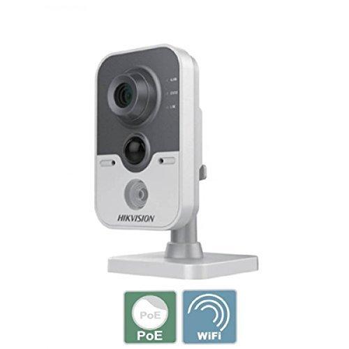 Hikvision Digital Technology DS-2CD2420F-I(W) - Cámara de vigilancia (Cámara de Seguridad IP, Interior, Cubo, Gris, Blanco, Escritorio, 1920 x 1080 Pixeles)