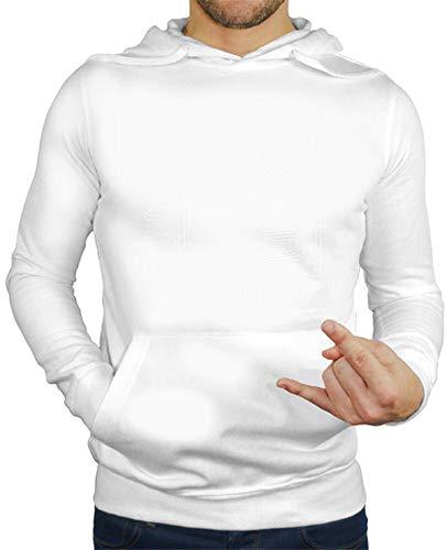 tostadora - Hoodie Gute Schwingungen - Manner Weiß L