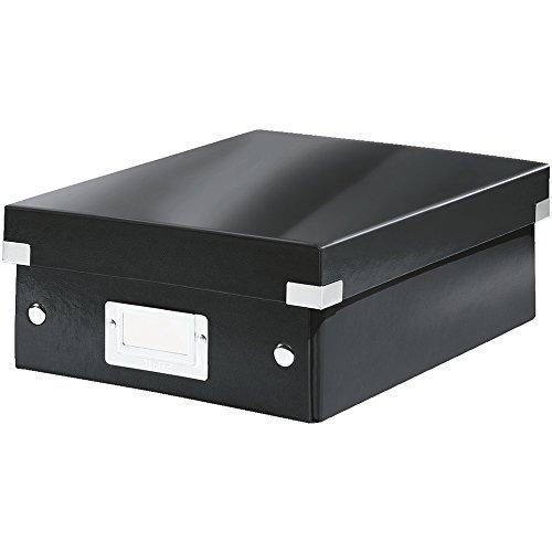 Leitz Click & Store Organisationsbox, Klein, schwarz, 60570095