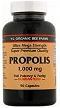 YS Organic Bee Farms Propolis -- 1000 mg - 90 Capsules by Y.S. Eco Bee Farms