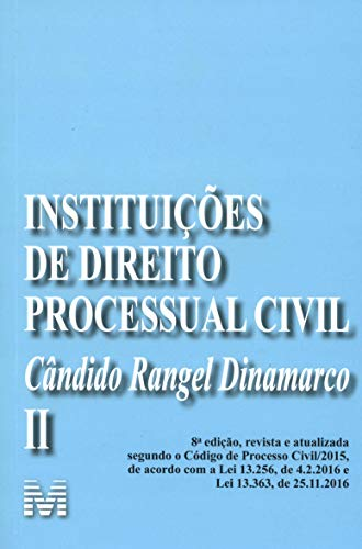 Instituições de Direito Processual Civil - vol. 2 – 8 ed./2019: Volume 2