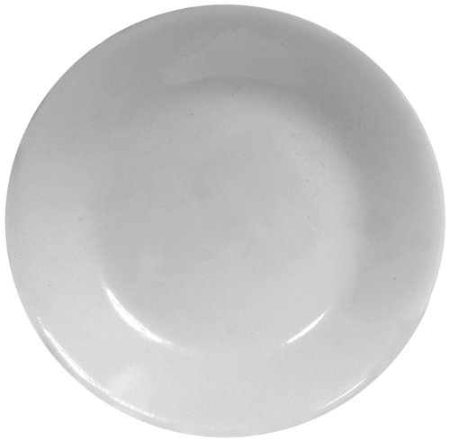 Corelle Livingware Bread and Butter Plate, Winter Frost White, Size: 6-3/4-Inch