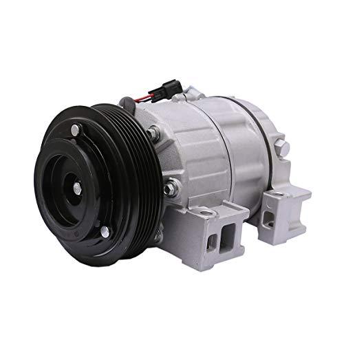 FKG AC Compressor and A/C Clutch CO 10886C Fit for 2007-2012 Nissan Altima 2.5L, 2007-2012 Nissan Sentra 2.5L