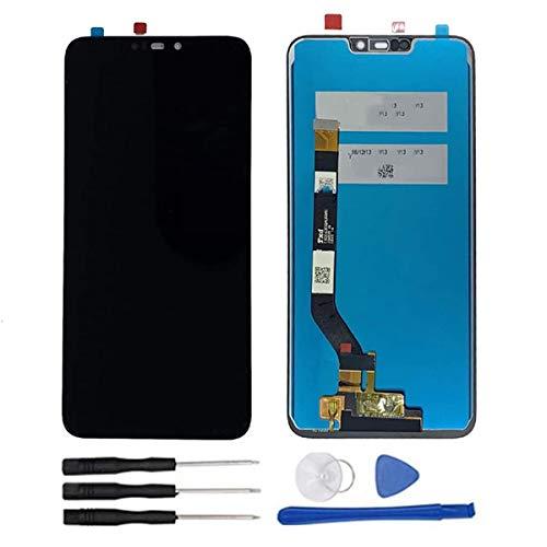 soliocial Sostituzione Assemblea Schermo LCD Display Digitizer Touch Screen Vetro per ASUS Zenfone Max M2 ZB633KL/ZB632KL X01AD Nero Senza Cornice