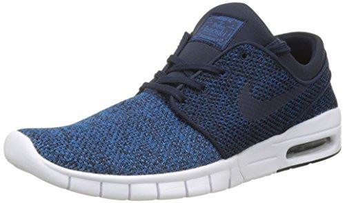 Nike Herren SB Stefan Janoski Max Sneakers, Blau (Industrial Blue/Obsidian-Photo Blue-lt A), 42 EU