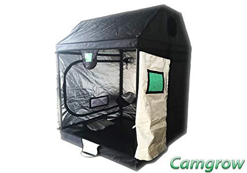 Budbox Pro Loft, Roof Series Grow Tents - White Or Silver Lining (Silver - XL-R - 120x120x180)
