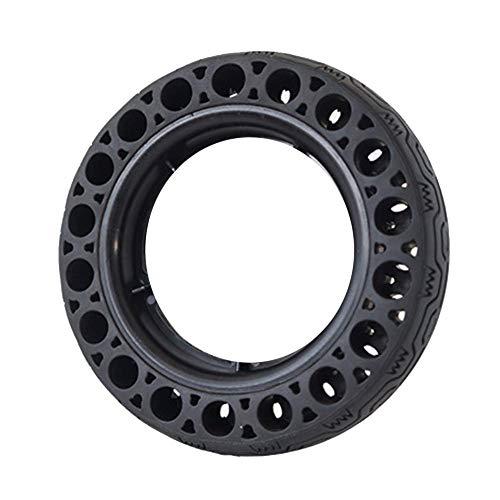 HTZ-M Rueda de Repuesto para Scooter, neumático sólido con amortiguación TPS de Agarre Fuerte, Rueda Delantera/Trasera de Repuesto para Scooter eléctrico