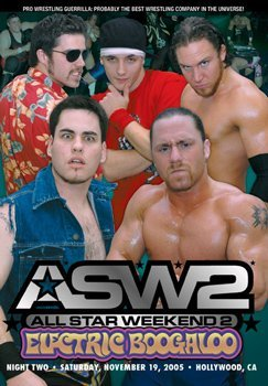 Pro Wrestling Guerrilla: PWG All Star Weekend 2 Electric Boogaloo - Night 2 DVD
