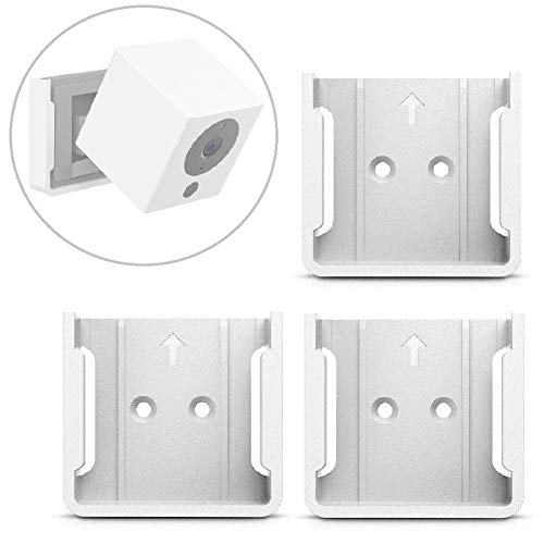 Wyze Cam Mount, Wall Mount Bracket for Wyze Cam 1080p HD Camera and iSmart Alarm Spot Camera,White, 3Pack