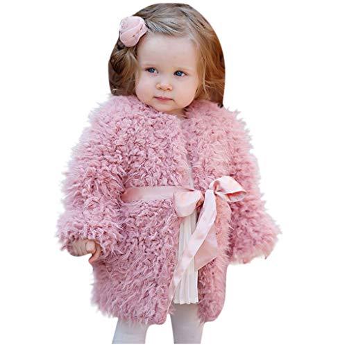 Luoluoluo mantel baby meisjes 3 maanden tot 2 jaar nepbont jas warm gewatteerde jas herfst winter capuchon babykleding meisjes omhang dunne jassen