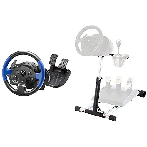 Thrustmaster T150 Force Feedback Volante - PS4/PS3/PC + T300-TX DELUXE, simulatore di guida