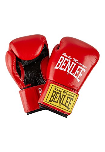 Ben Lee Fighter Vendas de Boxeo, Unisex Adulto, Rojo, 14 oz