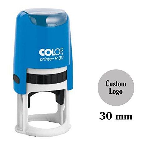 Selbstfärber Runde Stempel Kundenspezifische Monogramm/Logo COLOP Stamper 30 mm / 3 cm