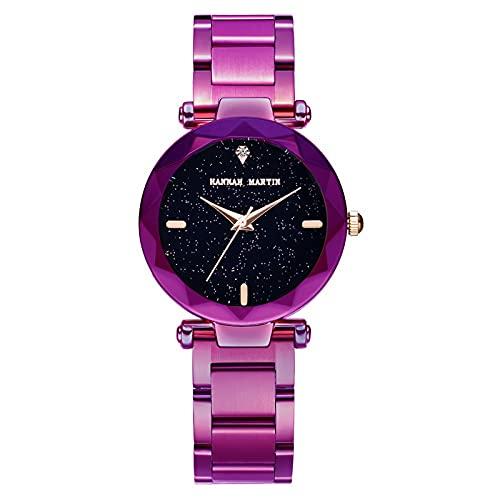 YDHNB Creativas Mujeres Relojes Señoras Reloj de Pulsera Mujeres Vestido Relojes de Pulsera Negocio Casual Reloj de Cuarzo,Style 2