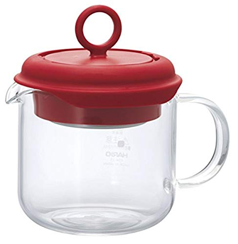 Hario Pull-Up Tea Maker, 350ml, Red