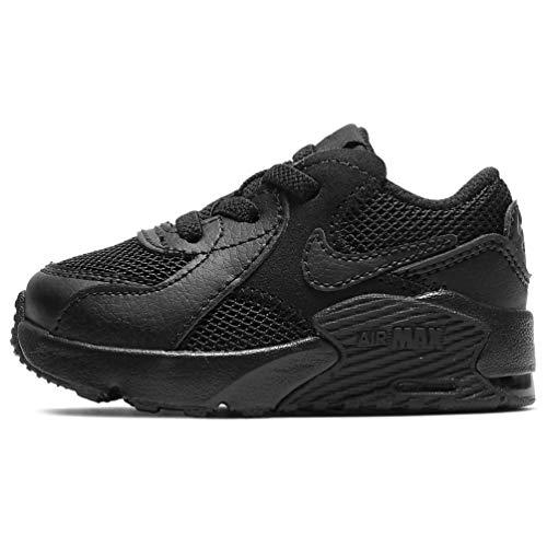 Nike Air Max Excee, Scarpe da Ginnastica Unisex-Bambini, Black/Black-Black, 18 EU