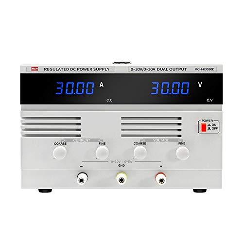 Précis Type réglable de commutateur d'alimentation CC d'alimentation de l'industrie électronique de laboratoire de la puissance élevée 30V 30A Durable (Size : 110V)