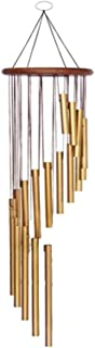 Zaptex 35'' Wind Chimes Soothing Tones Wind-Bell 18 Roots Aluminum Alloy Tubes WindChimes for Outdoor Patio Garden Home De...