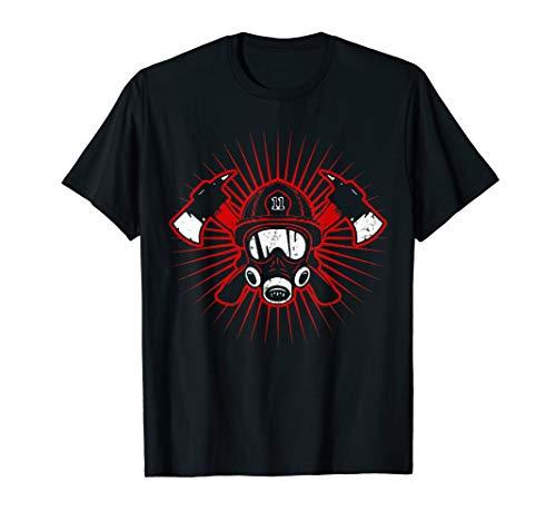 Feuerwehr Grafik | Feuerwehrmann & Feuerwehrfrau T-Shirt