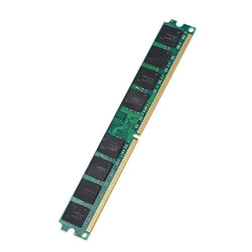 Cuifati DDR2-Speicher-RAM, Memory Ram Geeignet für DDR2 PC2-6400 Desktop-Computer, 2G RAM-Speicherkarte Kompatibel für Intel/AMD Motherboard