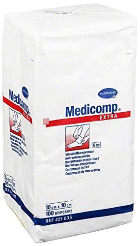 Medicomp Extra Kompresse 10x10cm Unsteril