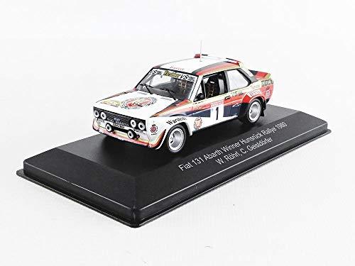 CMR FIAT 131 Abarth #1 Winner Hunsrück Rallye 1980 Röhrl, Geistdörfer 1:43