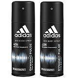 Adidas Dynamic Pulse Deodorant Body Spray for Men Combo (Pack of 2), 150ml