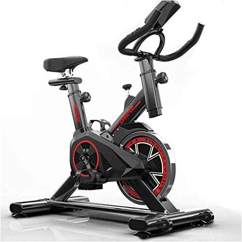 Fitness Cardio Home Cycling, Hometrainer voor thuisgebruik, Aerobic Indoor Training Hometrainer, Spinning Bike, met hartslagmeter