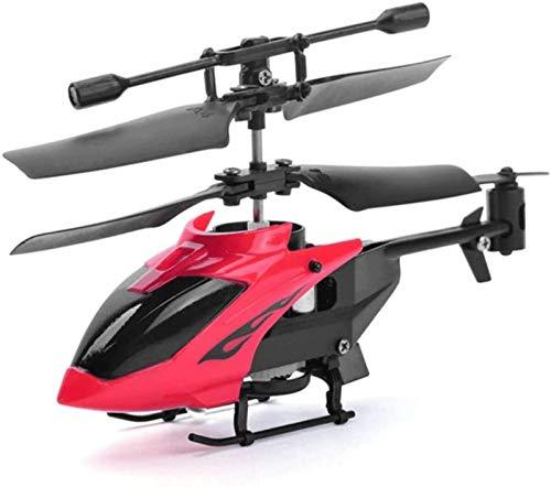 Helicóptero De Control Ultra Remoto Avión Demostración Automática RC Mini Avión Control Remoto Eléctrico Drone Niños,Red