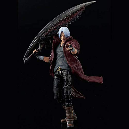 Figura Dante 16 cm. Devil May Cry 5. Deluxe Version. Escala 1:12. Sentinel