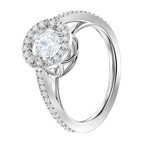 Swarovski Damen-Ringe Edelstahl Kristall '- Ringgröße 55 5465280