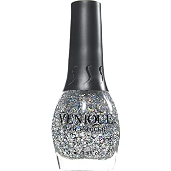 Venique Nail Lacquer High on Sparkles 421086 Nail Polish 15ml 0.5 Oz