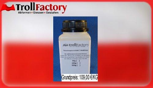 Thixotropiermittel Silikon Verdicker streichfähig spachtelbar thixotrop 100g