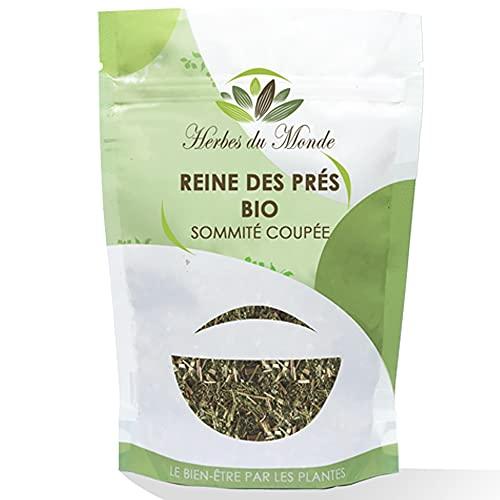 Tisane Reine Des Prés - Sommité fleurie Origine France - Infusion Détox et Antidouleur - 60g