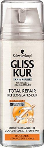 SCHWARZKOPF GLISS KUR Reflex-Glanz-Kur Total Repair, 6er Pack (6 x 150 ml)