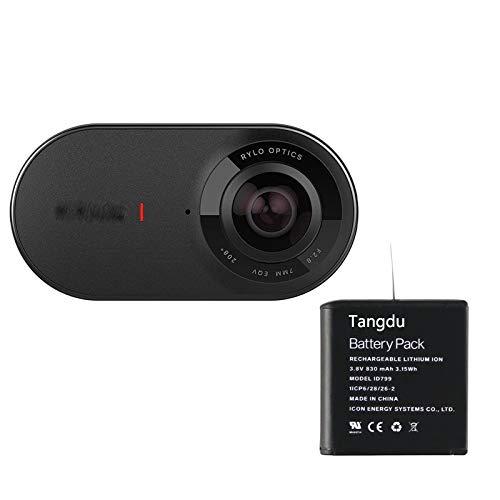 Tangdu Rylo 360 Battery 2Pcs/lot New Replacement Battery Pack for Rylo 360 Video Camera Battery ID799 Battery 11CP6/28/26-2 3.8V 830mah 3.15wh