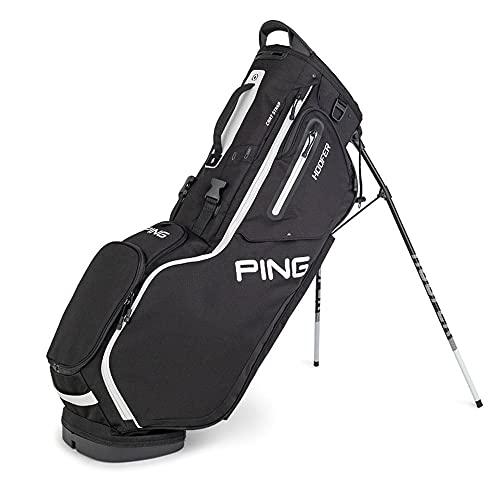 PING New Hoofer Stand Golf Bag [Black]