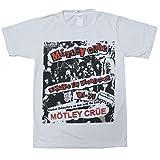 MOTLEY CRUE/ディケイド・オブ・デカダンス/モトリークルー/DECADE OF DECADENCE/ナチュラルホワイト/ロックTシャツ/メンズ/レディース (M)