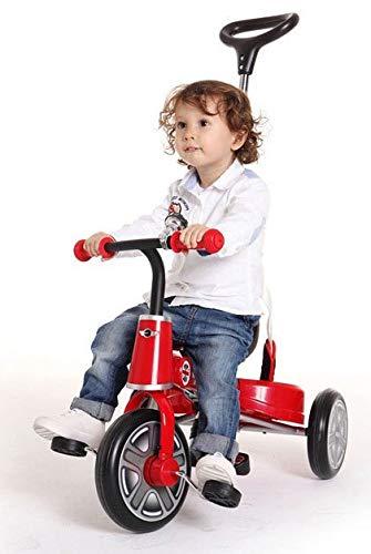 ROSA ROCA Triciclo evolutivo Mini con Licencia. Color Rojo.