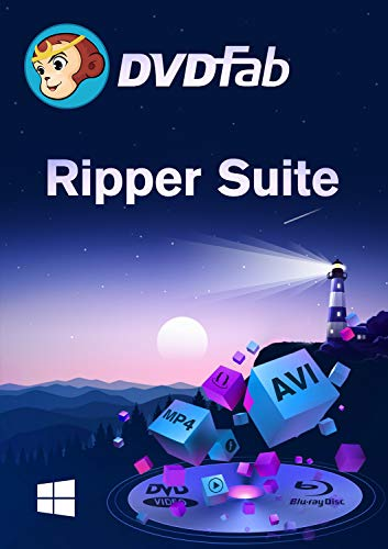 Ripper Suite ( DVD + Blu-Ray Ripper) Win -Lifetime Lizenz (Product Keycard ohne Datenträger)