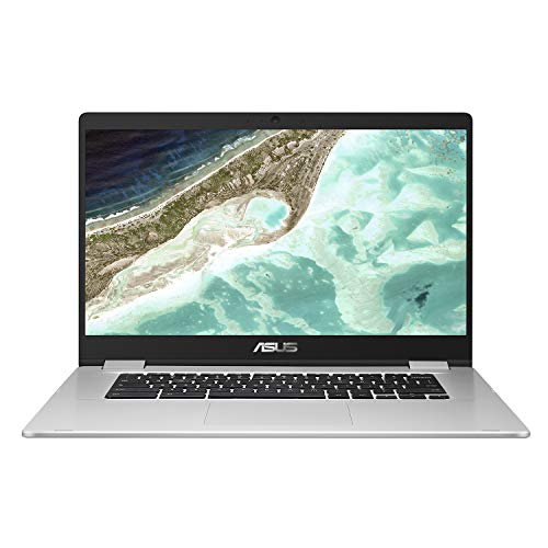 "ASUS Chromebook C523NA#B08CS7XGNX, Notebook in alluminio con Monitor 15,6"" HD Anti-Glare, Intel Celeron N3350, RAM 4GB, 64GB eMMC, Sistema Operativo Chrome, Argento"