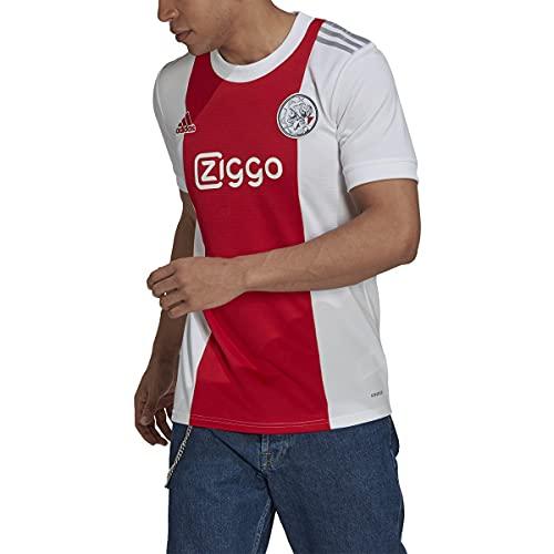 adidas 21-22 Ajax Amsterdam Home Jersey - Mens Soccer 2XL