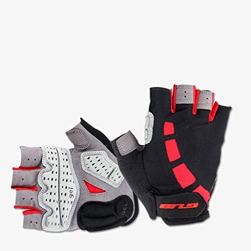 Outdoor handschoenen mannelijke en vrouwelijke modellen skischoen silicone handschoen half vinger handschoenen slip ademend multi-purpose werkhandschoenen in optie (Size : Small)