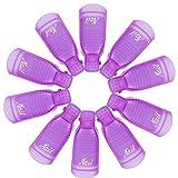 VOARGE 10 clip per rimozione unghie in gel UV per unghie