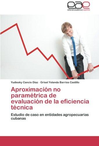 Cancio Díaz, Y: Aproximación no paramétrica de evaluación de