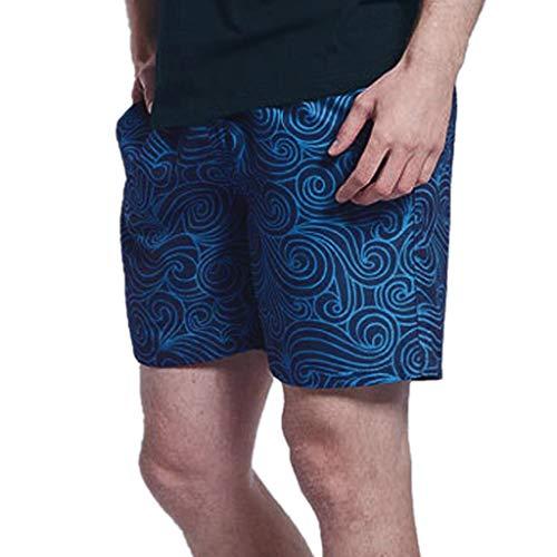 Mini-zwembroek voor heren, grote maten, korte sportbroek, sneldrogend, print, joggen, shorts, surfer, hotsping, vrije tijd, strandshorts met trekkoord
